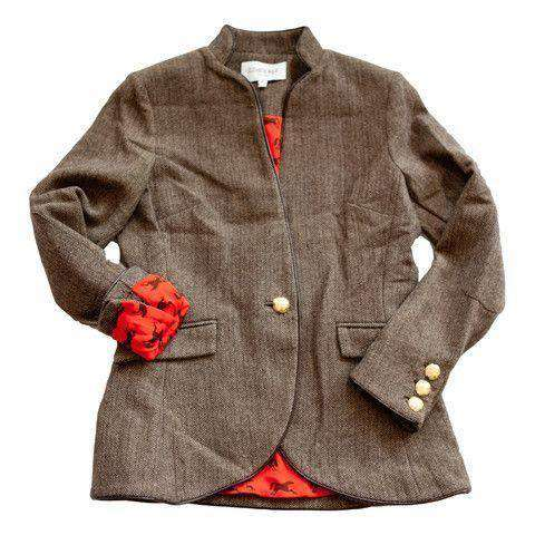 Women's Jackets - Austrian Jacket In Camel By Elizabeth McKay
