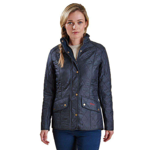 Cavalry Polarquilt Jacket in Navy by Barbour