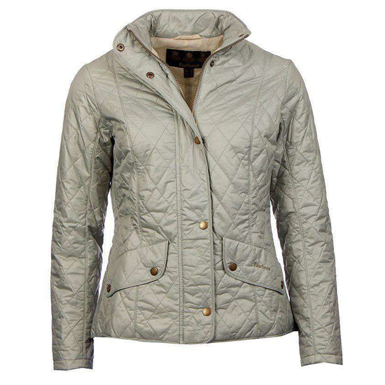 Women's Jackets - Flyweight Cavalry Quilted Jacket In Pale Sage By Barbour