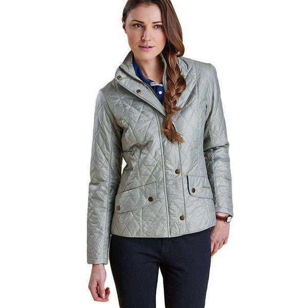 Flyweight Cavalry Quilted Jacket in Pale Sage by Barbour - FINAL SALE