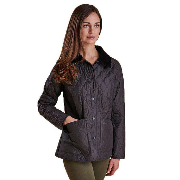 Women's Jackets - Montrose Quilted Jacket In Ash Grey By Barbour