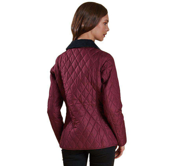 Montrose Quilted Jacket in Bordeaux by Barbour