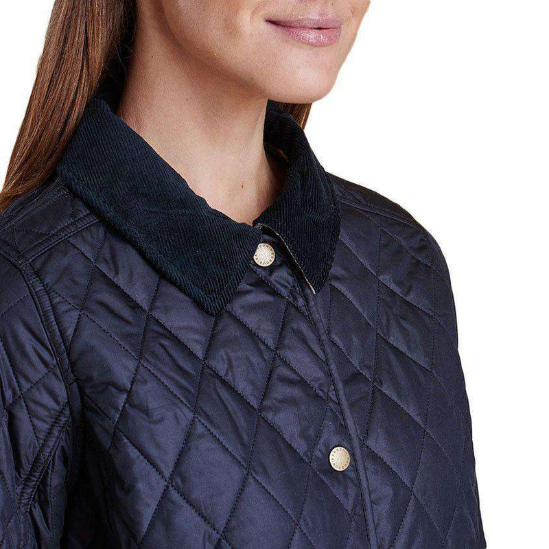f75424d5f Barbour Spring Annandale Quilted Jacket in Navy – Country Club Prep