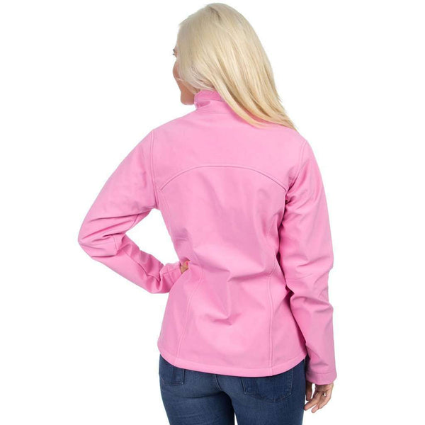The Bradford Soft Shell Jacket in Pink by Lauren James - FINAL SALE