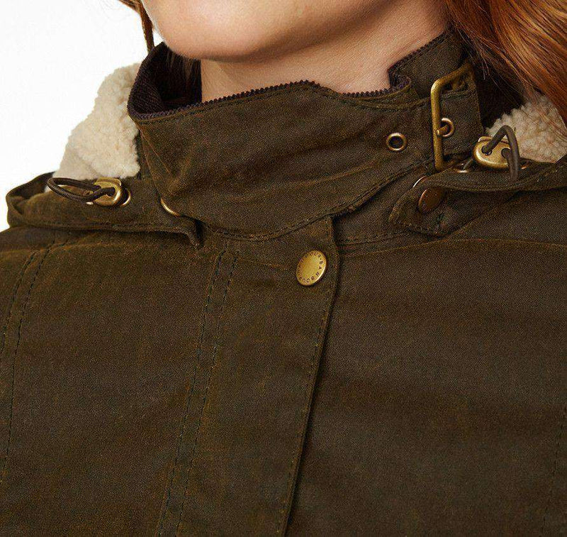 The Convoy Waxed Jacket in Olive Green by Barbour