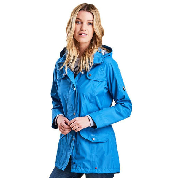 Trevose Waterproof Jacket in Beachcomber Blue by Barbour - FINAL SALE