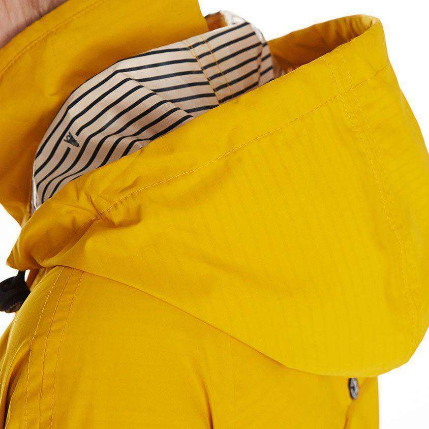Barbour Trevose Waterproof Jacket in Yellow – Country Club ...