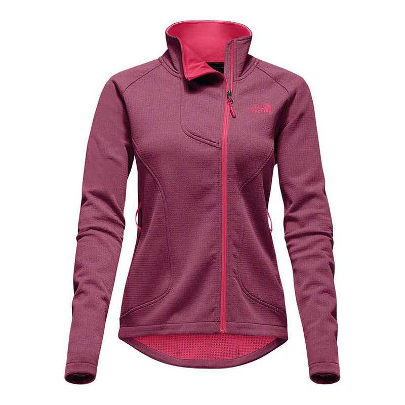 Women's Jackets - Women's Needit Jacket In Honeysuckle Pink Heather By The North Face - FINAL SALE