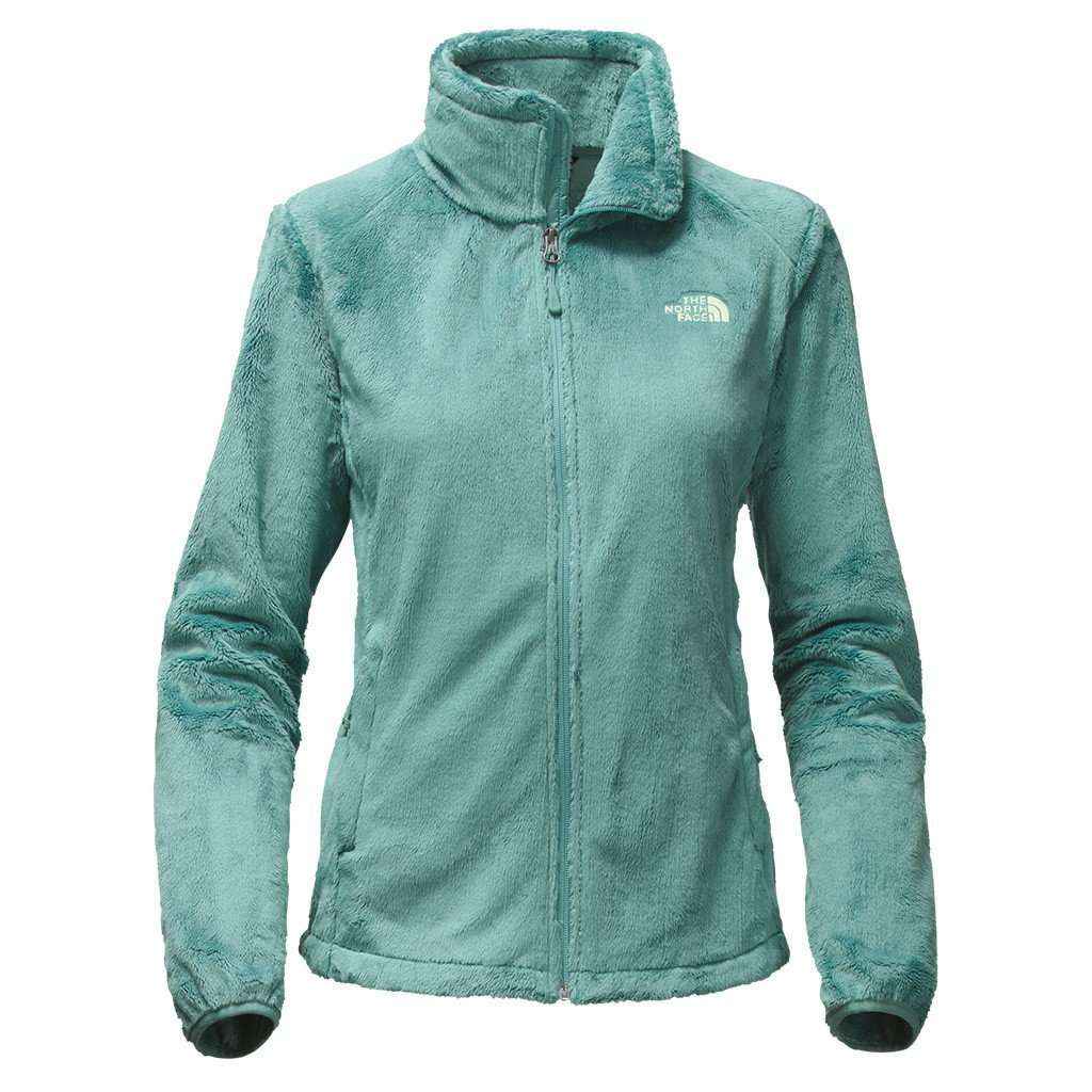 162e4480b Women's Osito 2 Full Zip Fleece Jacket in Trellis Green by The North Face