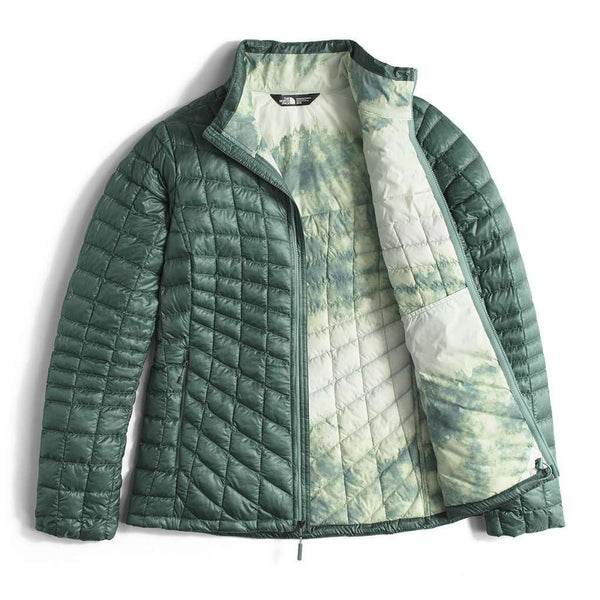 Women's Thermoball Full Zip Jacket in Trellis Green by The North Face