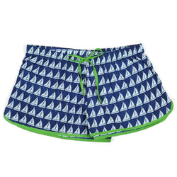 Women's Loungewear/Boxers - Annapolis Women's Boxers In Navy By Malabar Bay - FINAL SALE