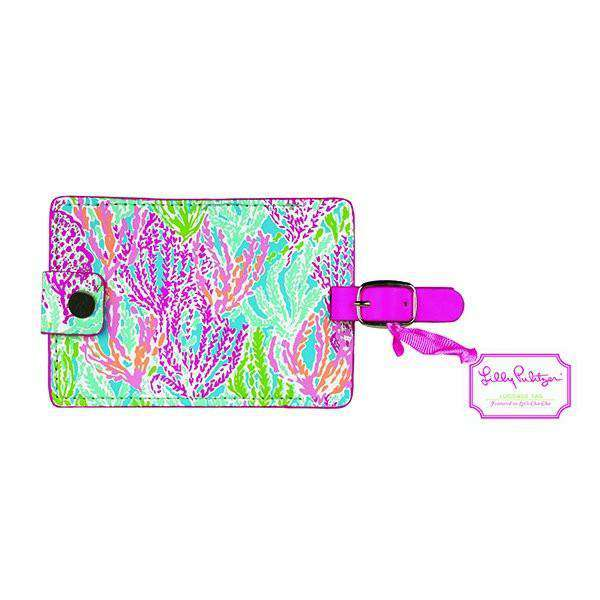 Women's Luggage - Luggage Tag In Let's Cha Cha By Lilly Pulitzer