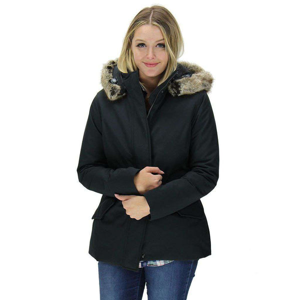 Women's Outerwear - Cheviot Waterproof Breathable Jacket In Black By Barbour - FINAL SALE