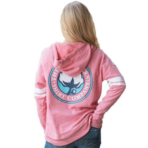 French Terry Hoodie in Rapture Rose by The Southern Shirt Co. - FINAL SALE
