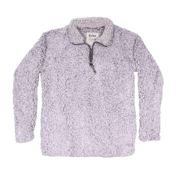 Women's Outerwear - Frosty Tipped Women's Stadium Pullover In Heather By True Grit (Dylan)