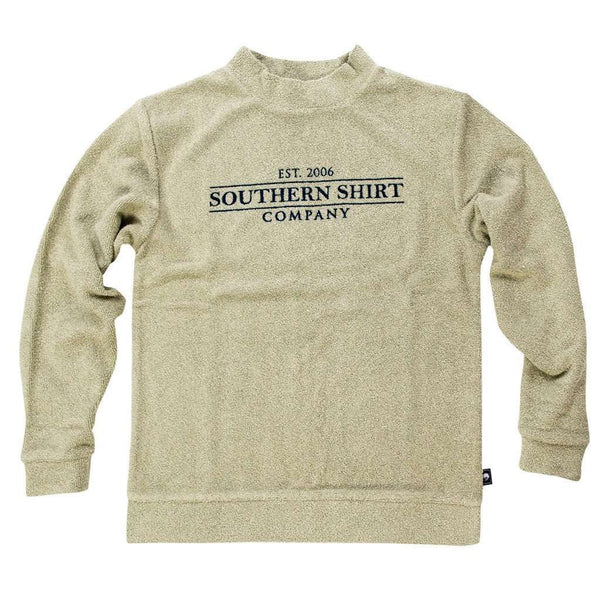 Loop Knit Terry Pullover in Desert Sage by The Southern Shirt Co.
