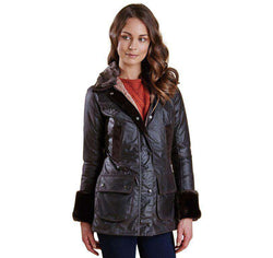 Women's Outerwear - Ratio Wax Jacket In Rustic By Barbour