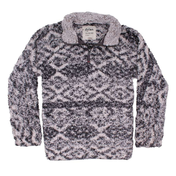 Women's Outerwear - Tribal Frosty Tipped Women's Stadium Pullover In Putty By True Grit (Dylan)