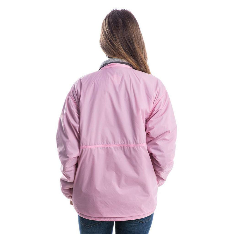 Whistler Throwback Reversible Pullover in Candy Pink by Lauren James - FINAL SALE