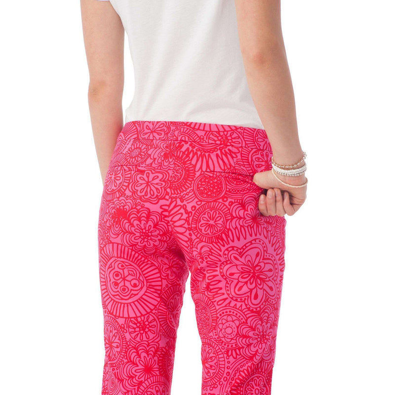 Audrey Pant in Seapine Floral by Southern Tide