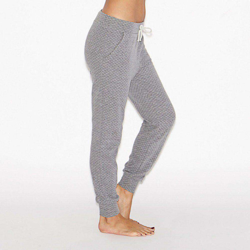 Women's Pants - Cozy Quilt Lounge Pants By Beyond Yoga - FINAL SALE