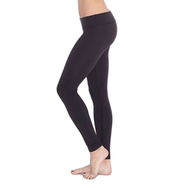Essential Long Legging in Black by Beyond Yoga