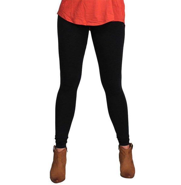 Women's Pants - Everyday Legging In Black By Tyler Boe - FINAL SALE