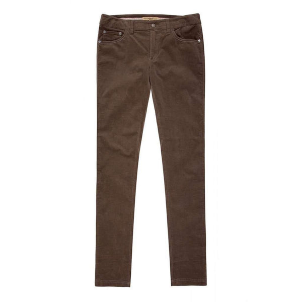 Women's Pants - Honeysuckle Ladies Pincord Pant In Mocha By Dubarry Of Ireland