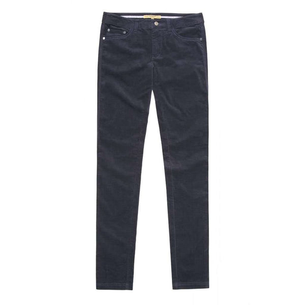 Women's Pants - Honeysuckle Ladies Pincord Pant In Navy By Dubarry Of Ireland