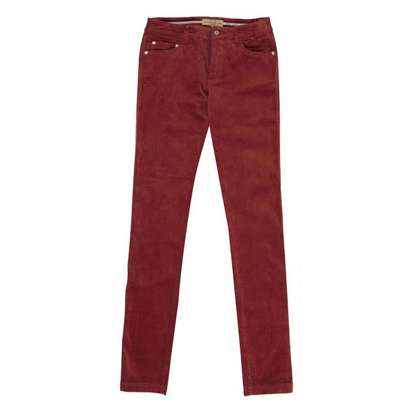 Women's Pants - Honeysuckle Ladies Pincord Pant In Russet Brown By Dubarry Of Ireland