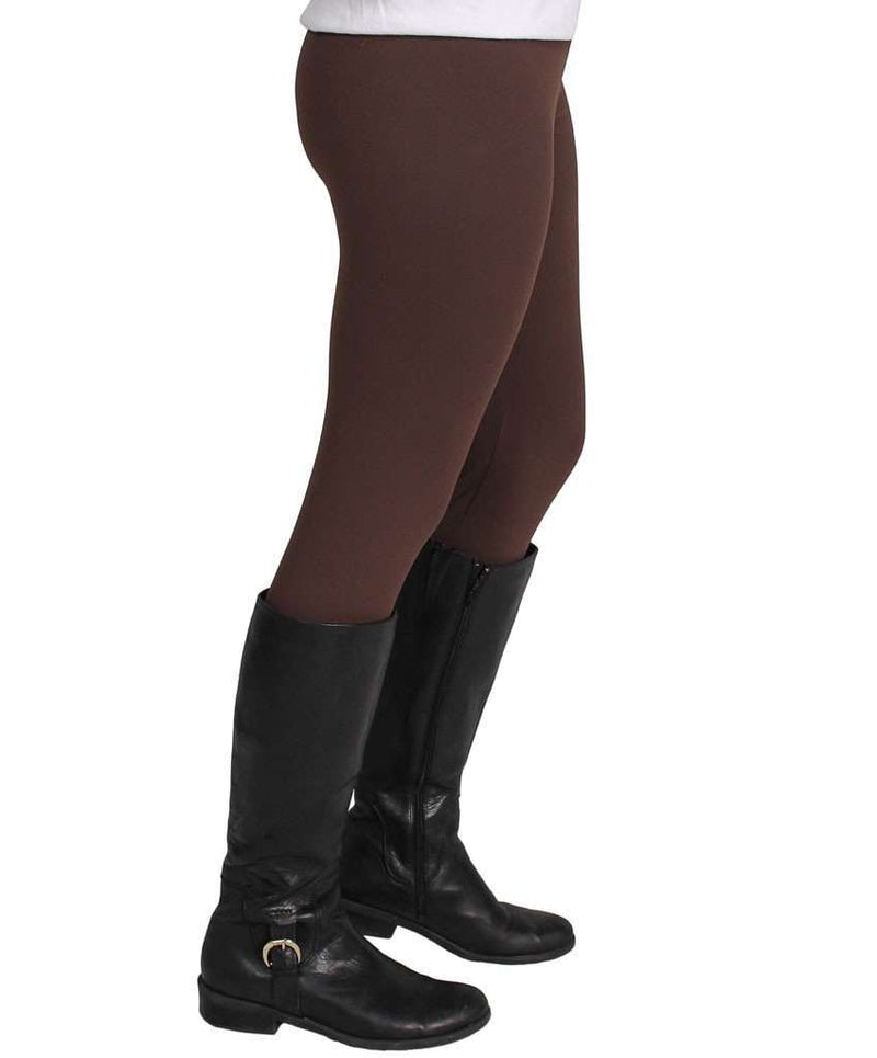 Women's Pants - Leggings In Brown By Barbara Gerwit - FINAL SALE