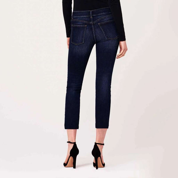Women's Pants - Mara Instasculpt Straight Ankle Jean In Dundee Wash By DL1961 - FINAL SALE