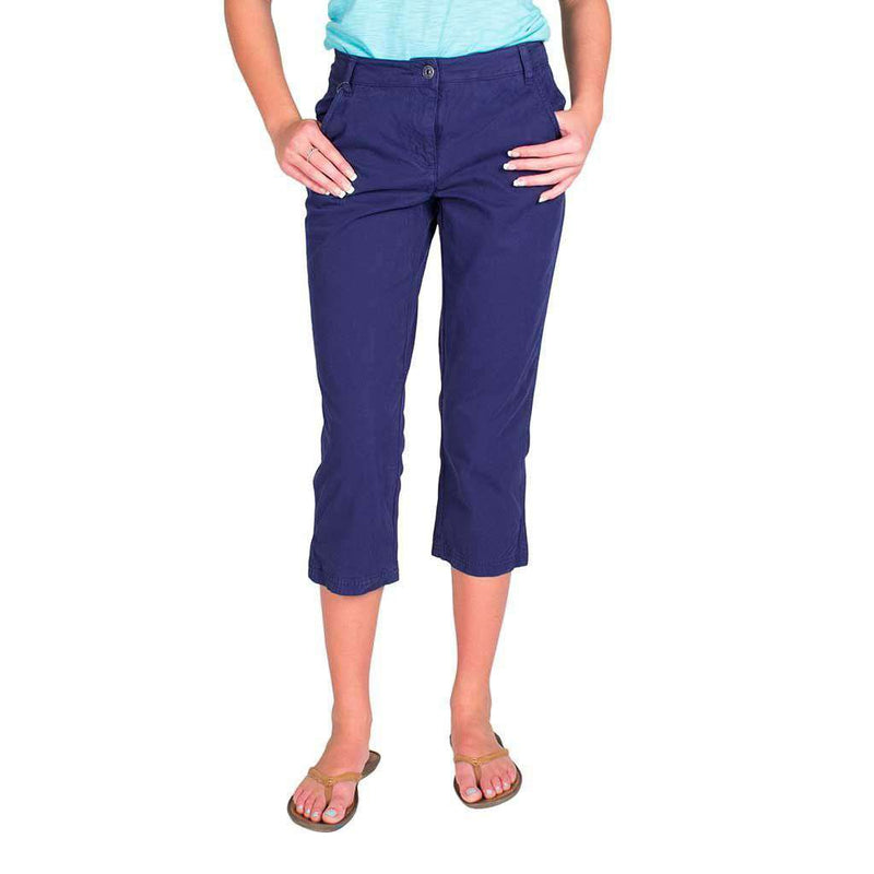 Women's Pants - Marine Pant In Navy By Saint James - FINAL SALE
