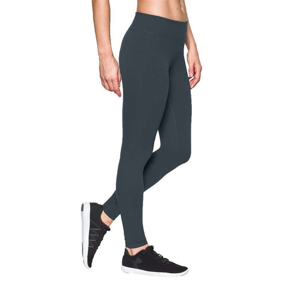 Women's Pants - Mirror Leggings In Steel By Under Armour