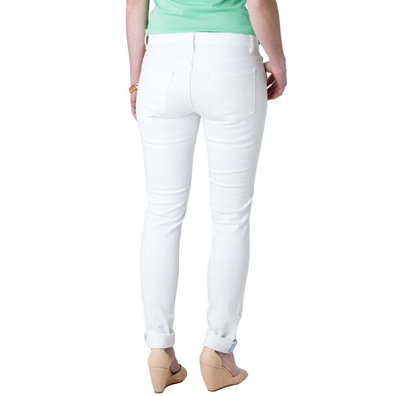 Resort Skinny Jean in Classic White by Southern Tide