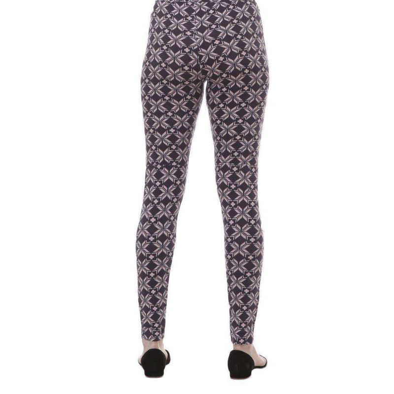 Snowflake Structured Leggings by Hatley - FINAL SALE