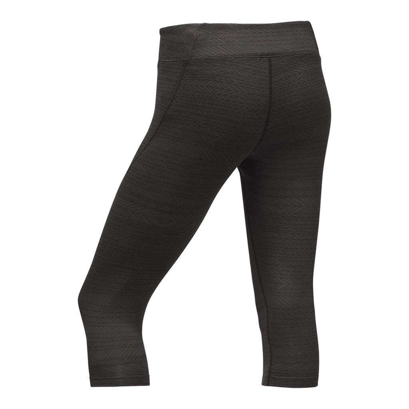 Women's Pulse Capri Tights in Black Tribal Print by The North Face