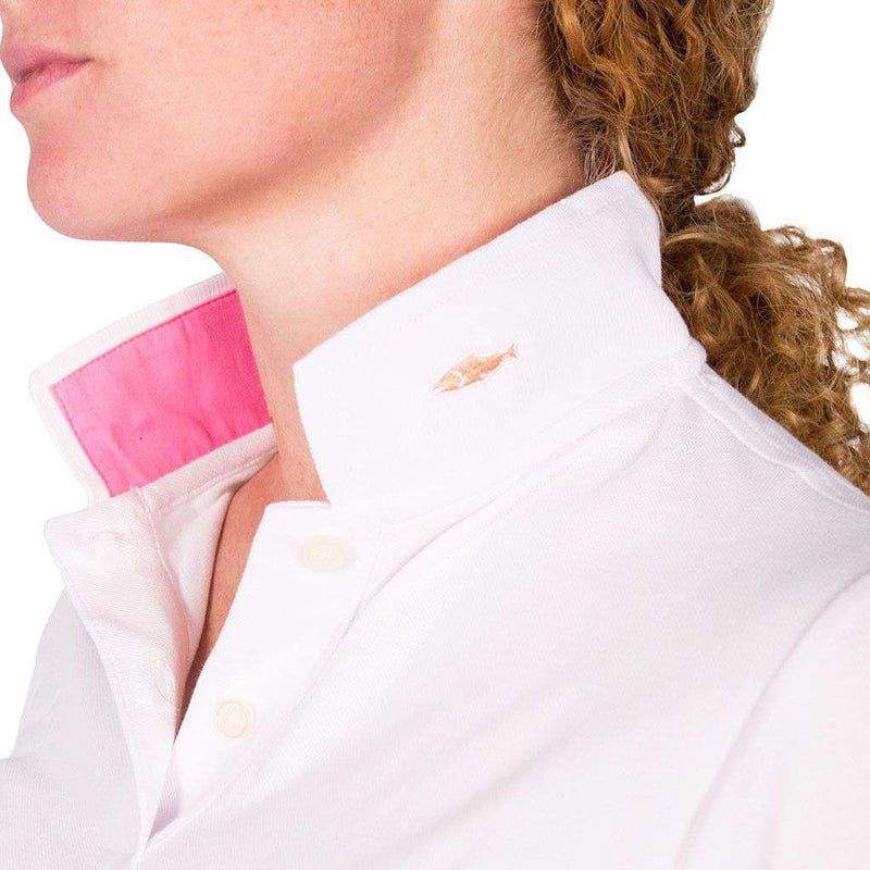 The Cove Collar in White by Salmon Cove - FINAL SALE