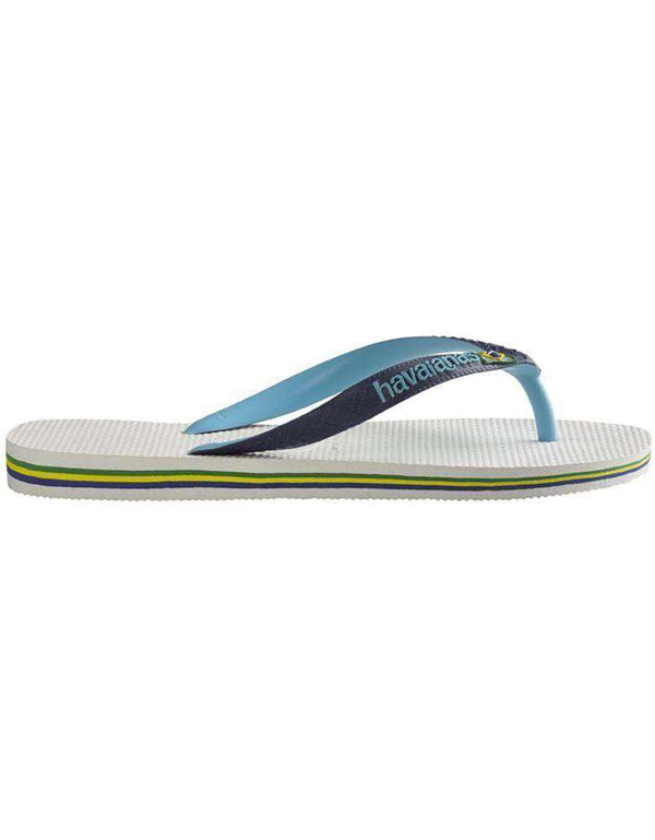 Women's Sandals - Brazil Mix Sandals In White By Havaianas - FINAL SALE