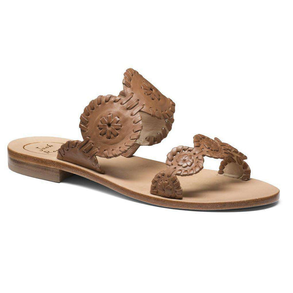 Women's Sandals - Lauren Sandal In Cognac By Jack Rogers - FINAL SALE
