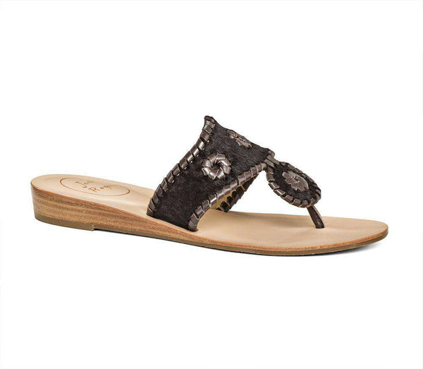 Safari Capri Sandal in Espresso by Jack Rogers - FINAL SALE