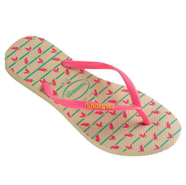 Women's Sandals - Slim Cool Sandals In Sand Grey By Havaianas - FINAL SALE