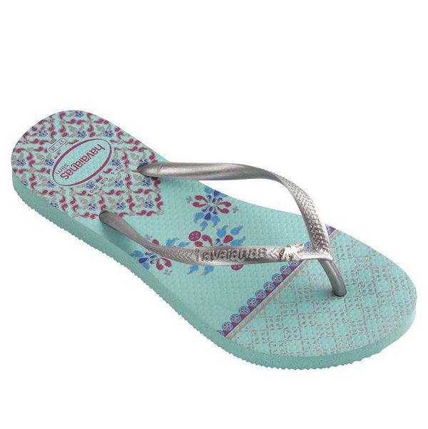 Slim Royal Sandals in Acqua by Havaianas - FINAL SALE