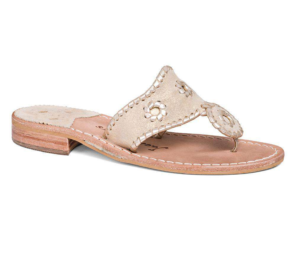 Women's Sandals - Stardust Sandal In Platinum By Jack Rogers