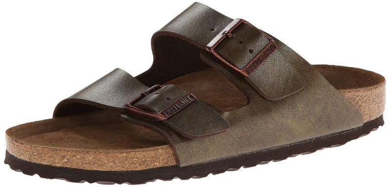 Women's Sandals - Women's Arizona Sandal In Golden Brown With Soft Footbed By Birkenstock