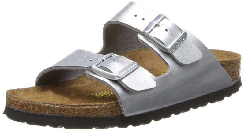 Women's Sandals - Women's Arizona Sandal In Silver By Birkenstock