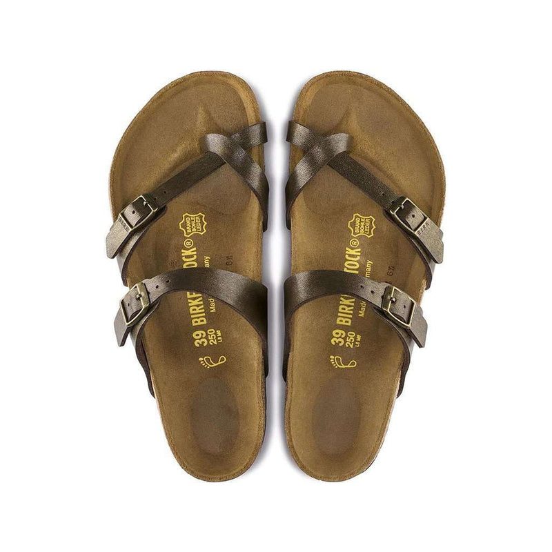 Women's Mayari Sandal in Golden Brown by Birkenstock