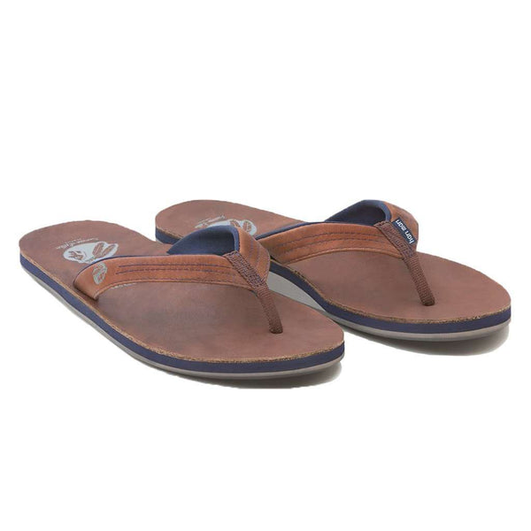 Women's Sandals - Women's Nokona Flip Flop In Walnut By Hari Mari