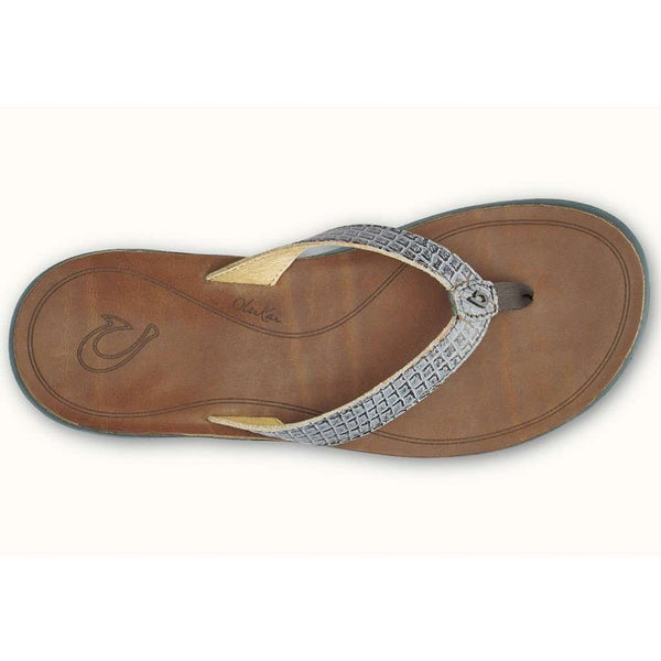 Women's Pua Sandal in Pewter & Sahara by Olukai - FINAL SALE