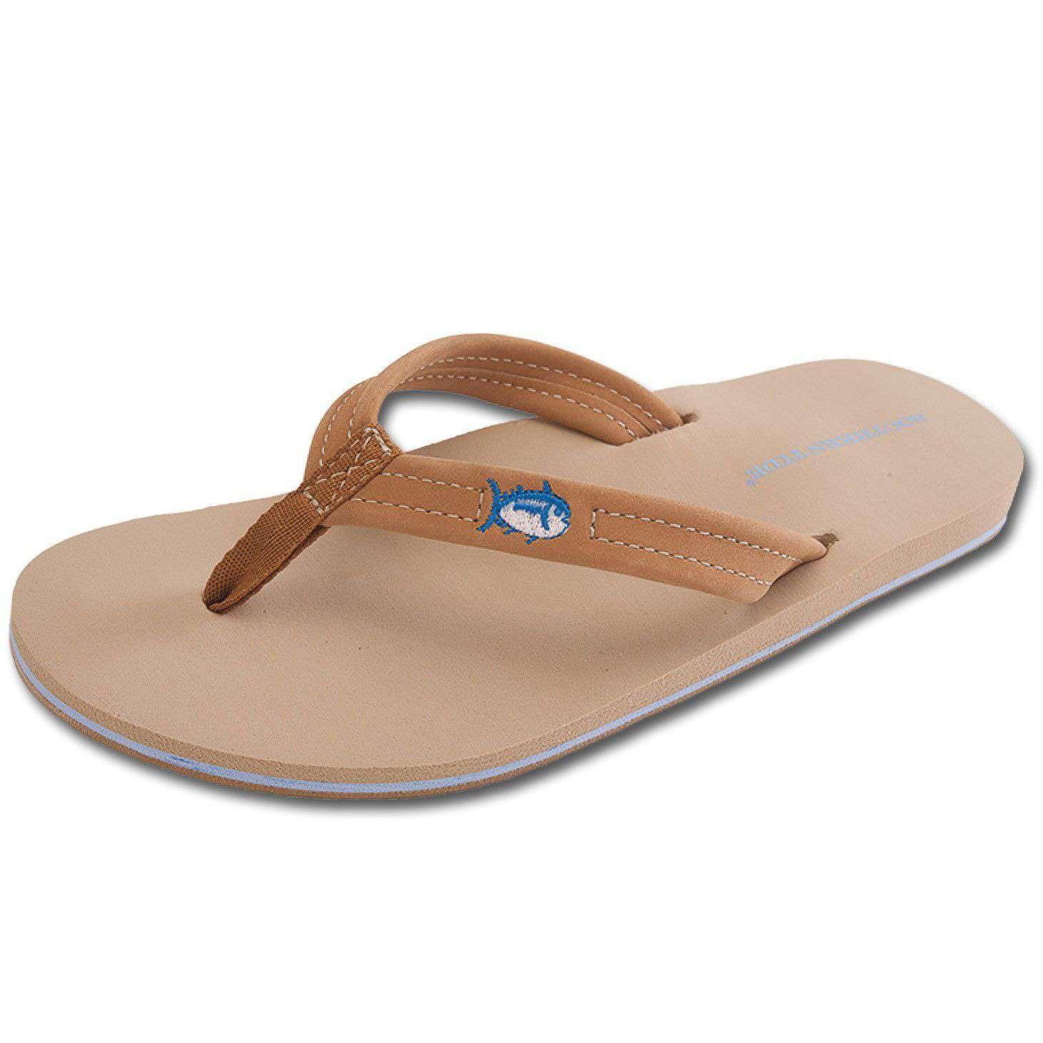 Women's Sandals - Women's Weekend Flipjacks In Seashore By Southern Tide